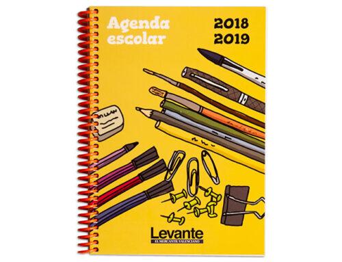 Agenda escolar Levante